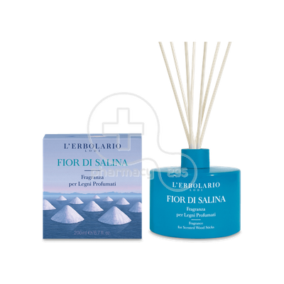 L'ERBOLARIO - FIOR DI SALINA Fragrance for Scented Wood Sticks - 200ml
