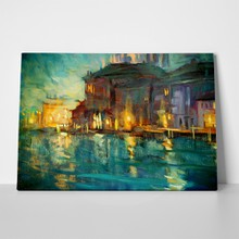 Venice oil painting on plywood183434480 a