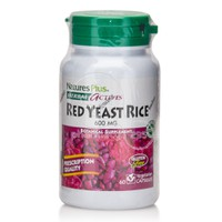 NATURE'S PLUS - HERBAL ACTIVES Red Yeast Rice 600mg - 60caps