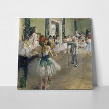 The dancing lesson degas a