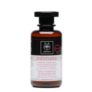 Apivita intimate gentle cleansing gel for the intimate area for extra protection with tea tree   propolis 200ml