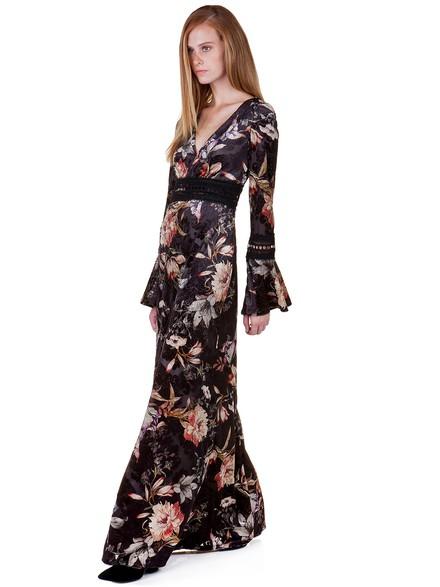 135d83bccd3e Maxi floral φόρεμα