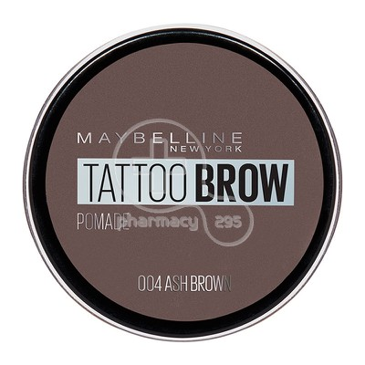 MAYBELLINE - TATTOO BROW Pomade No04 (Ash Brown)