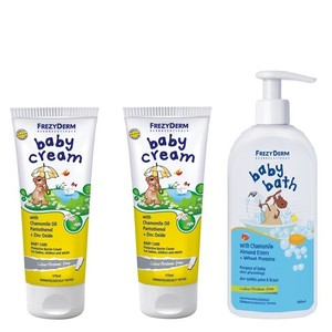 Frezyderm baby cream x2 bath