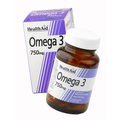 Health Aid Omega 3 750 mg 60caps