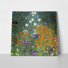 Klimt   cottage garden a