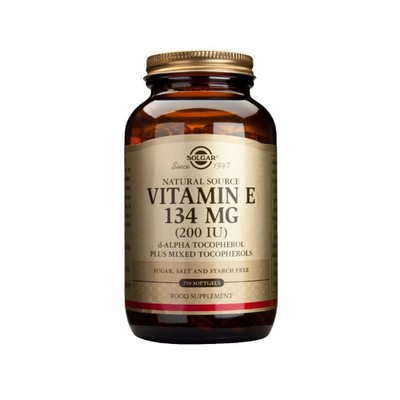 Solgar - Vitamin E 200 IU - 250softgels