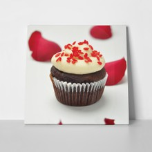Red cupcake a