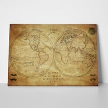 Vintage world map 1833 97958996 a