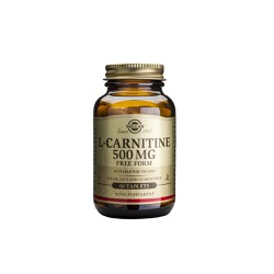 Solgar L-Carnitine 500mg  60 tablets