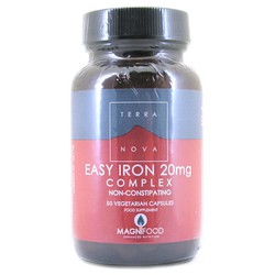 TerraNova Easy Iron 20mg Complex 50caps