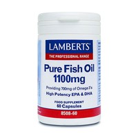 LAMBERTS PURE FISH OIL 1100MG 60CAPS