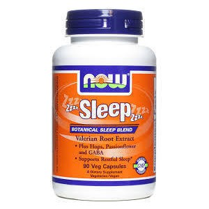 Now foods sleep 90 vcaps