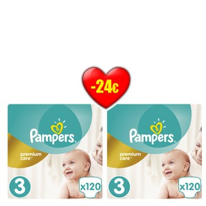 Pampers premiunm size 3   4015400465461  24euro