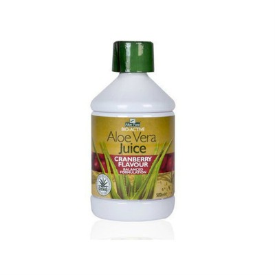 OPTIMA - ALOE VERA Juice Cranberry Flavour - 500ml