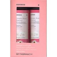 PROMO KORRES INTIMATE AREA CLEANSER ΧΑΜΟΜΗΛΙ & LACTIC ACID 1+1 ΔΩΡΟ 2Χ250ML