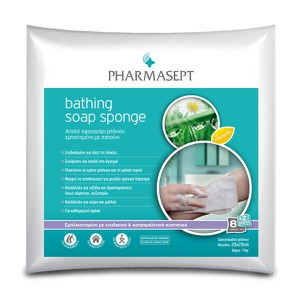 PHARMASEPT Bathing soap sponge 20x20cm 8+2Δώρο