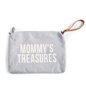 Nεσσεσέρ Childhome Μommy Treasures Clutch Grey Off White