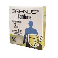 GRANUS CONDOMS 3ΤΕΜ