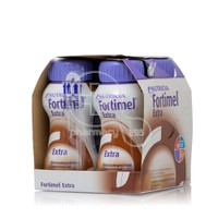 NUTRICIA - Fortimel Extra με γεύση Σοκολάτα 4Χ200ml (Συσκευασία των 4τεμάχιων)