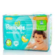 Pampers No.4+ (9-16 kg) - Active Baby Dry, 39τμχ