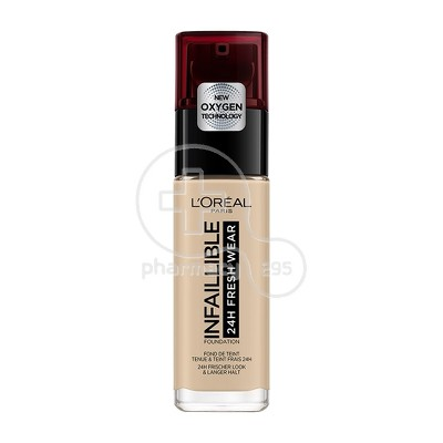 L'OREAL PARIS - INFALLIBLE 24h Fresh Wear Foundation No130 (True Beige) - 30ml