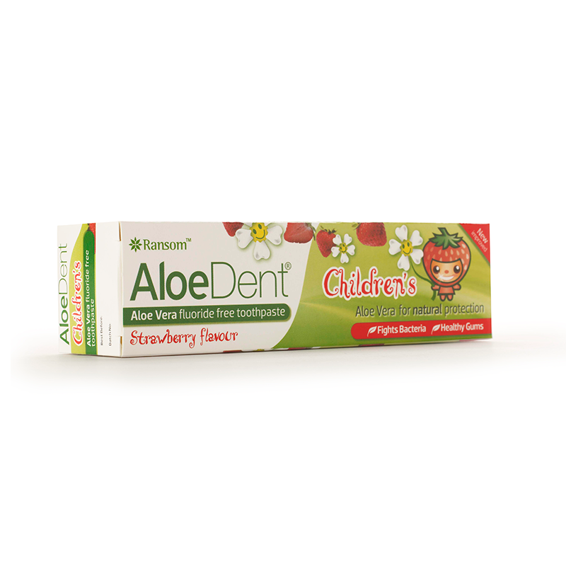 Aloe Dent Strawberry Children's Toothpaste