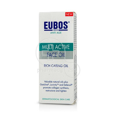 EUBOS - MULTI  ACTIVE Face Oil - 30ml