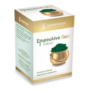 Superfoods food supplement spirulina gold eubias 180tablets