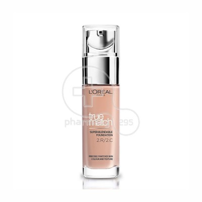 L'OREAL PARIS - TRUE MATCH Super Blendable Foundation No2.R/2.C (Rose Vanilla) - 30ml