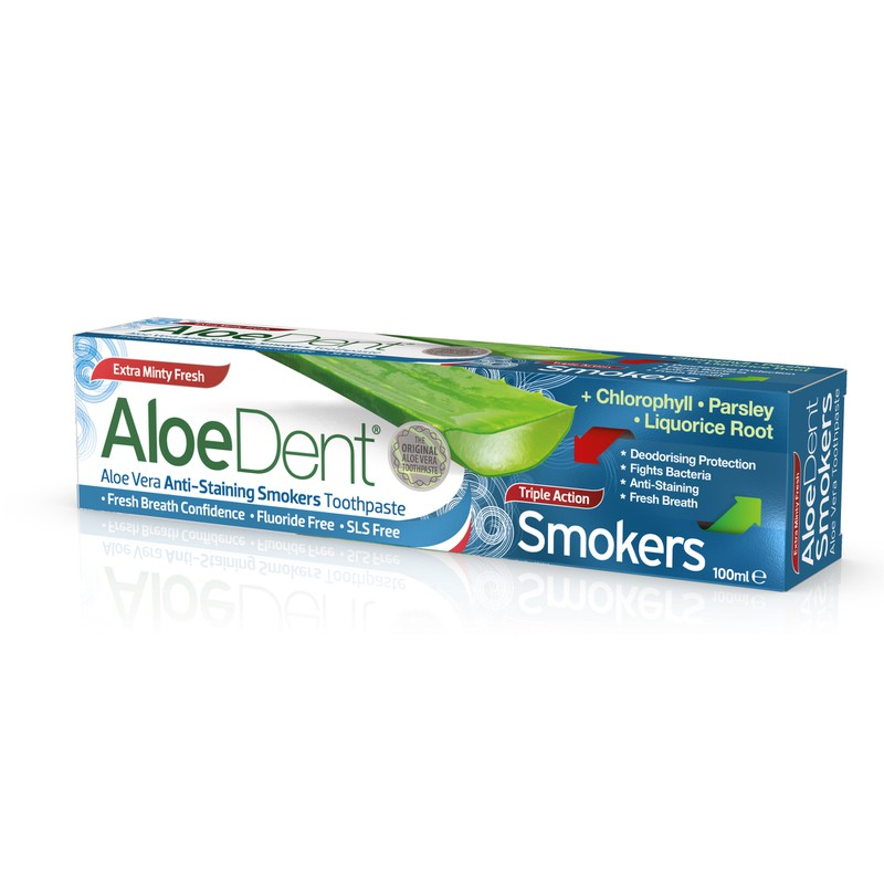 AloeDent® Triple Action Smokers 100ml