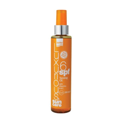 Luxurious - Sun Care Tanning Oil SPF6 με βιταμίνες Α & Ε - 200 ml