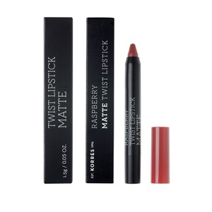 KORRES Lipstick twist raspberry matte ruby red 1,5