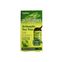 OPTIMA AUSTRALIAN TEA TREE ANTISEPTIC NAIL SOLUTION 10ML