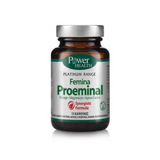 Power Health Platinum Range Femina Proeminal Συμπλήρωμα Διατροφής 15Caps.