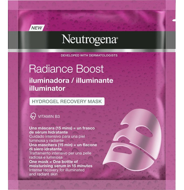 Neutrogena Radiance Boost The Illuminator Hydrogel Μάσκα Αναδόμησης 30ml