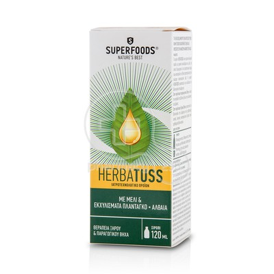 SUPERFOODS - Herbatuss Syrup - 120ml