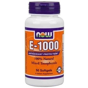 Now foods vitamin e 1000