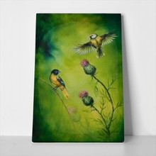 Pair of birds painting 235245298 a