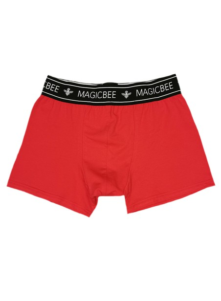 MAGIC BEE CLOTHING RED BOXER