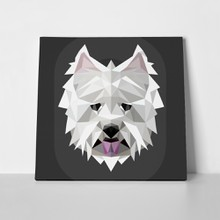 West highland white terrier low poly 566860012 a