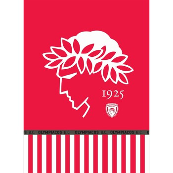 Κουβέρτα Βελουτέ Μονή (160x220) Olympiakos Velour Official Team Licenced