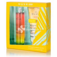 Nuxe Σετ Sun Eau Delicieuse Parfumante - Άρωμα Spray, 100ml & Δώρο After-Sun Hair & Body Shampoo 200ml