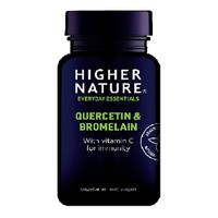 HIGHER NATURE QUERCETIN & BROMELAIN 60TABS
