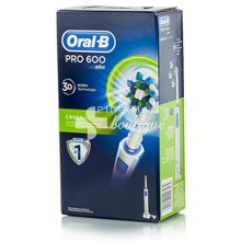Oral-B Pro 600 3D CROSS ACTION - Λευκή, 1τμχ.