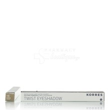 Korres Volcanic Minerals Twist Eyeshadow - 15 Golden Sugar, 1.4 gr