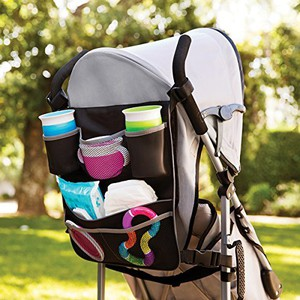 Brica 2 in 1 backseat and pushchair organiser