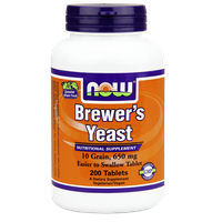 NOW BREWER'S YEAST(ΜΑΓΙΑ ΜΠΥΡΑΣ)  650 MG, 200 TABS