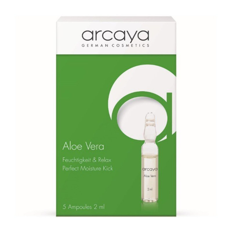ec810023cd Arcaya ampoules aloe vera 5x2ml new pack