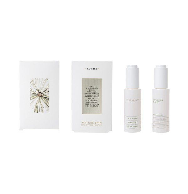 KORRES FACE WHITE PINE SERUM 30ML